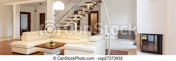Interior moderno - csp27373932