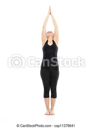 intermediate yoga pose preparation for yoga posture