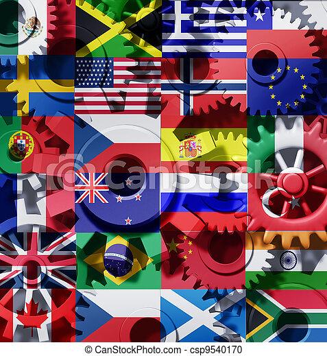 El símbolo internacional de la industria - csp9540170