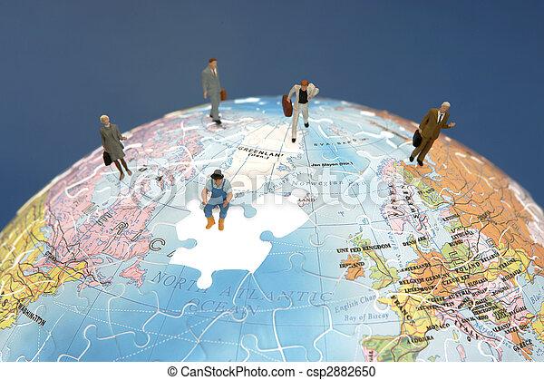 Trabajo en equipo internacional - csp2882650
