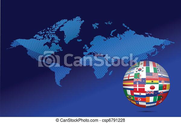 Internationales Kommunikationskonzept - csp6791228
