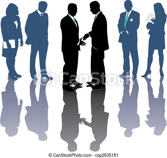 International Business Deal - csp2635181