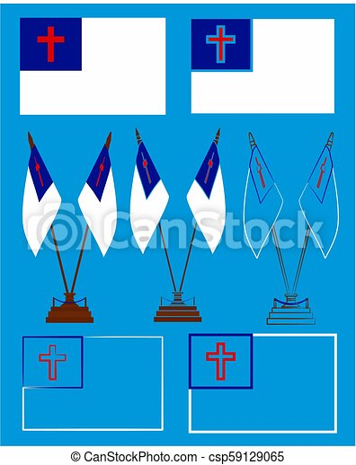 Pictures of christianity flag