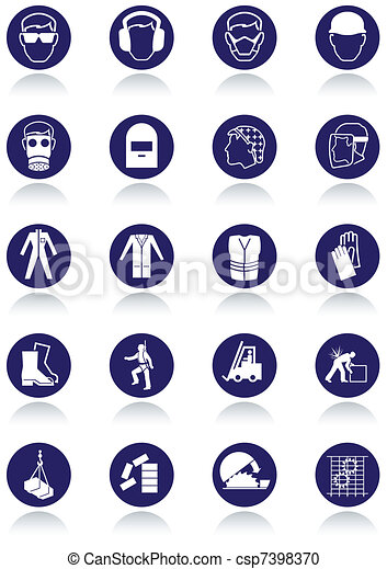International communication signs. - csp7398370