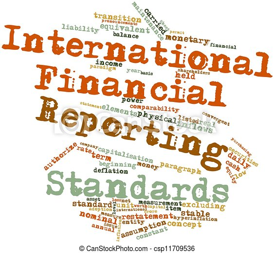 Thesis on international financial reporting standards