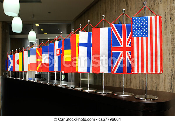International flags - csp7796664
