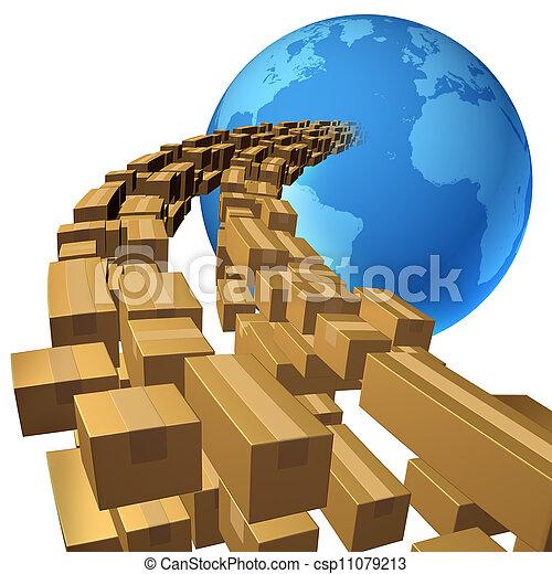 International Shipping - csp11079213