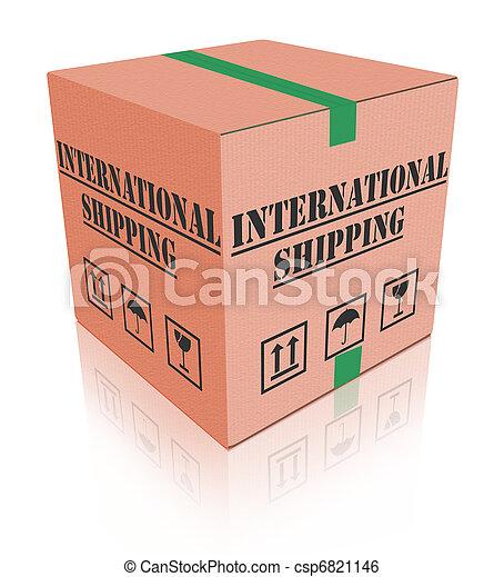 international shipping - csp6821146