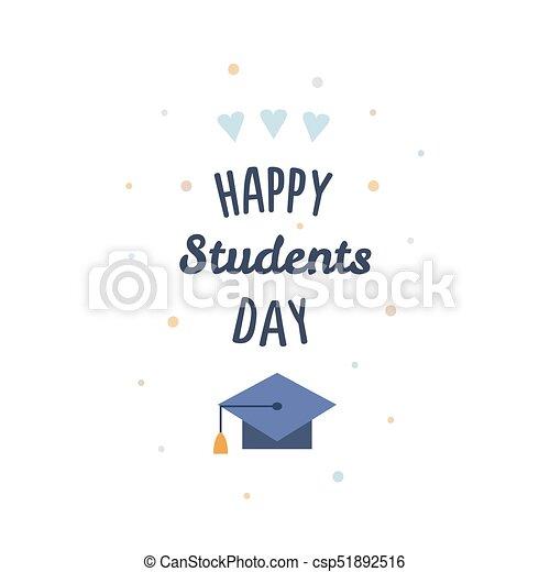 International Students Day. Vector Illustration.