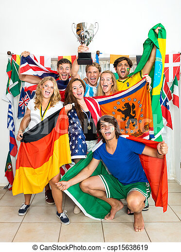international, ventilateurs, sports - csp15638619