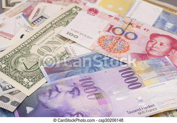 internazionale, valute - csp30206148