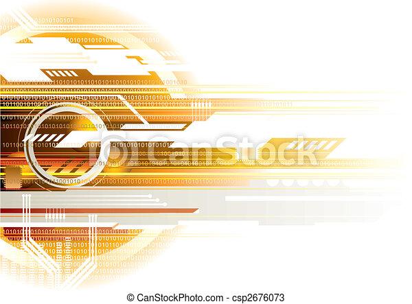 Internet Background - csp2676073
