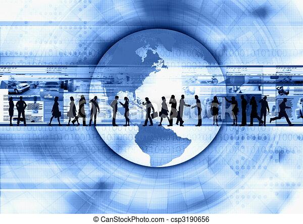Internet Business 01 - csp3190656