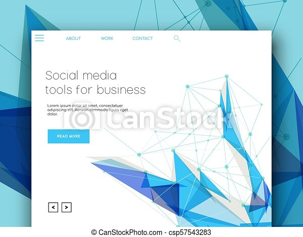 Internet business web landing page template internet business internet business web landing page template csp57543283 flashek Image collections