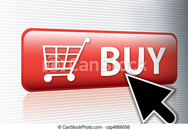 internet buy button - csp4866056
