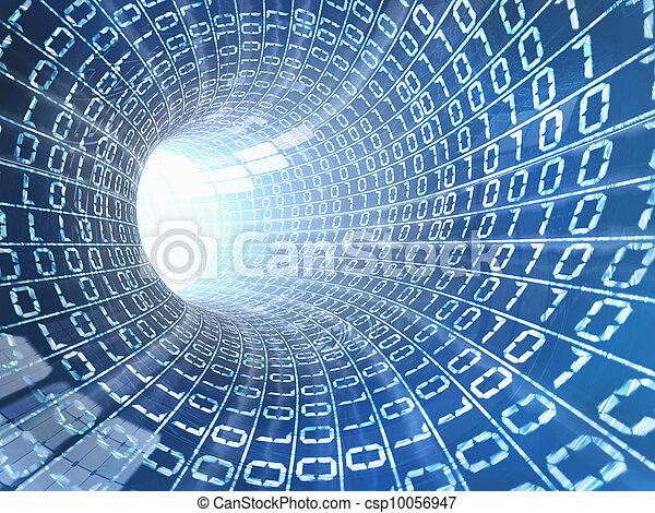 Internet cable concept - csp10056947