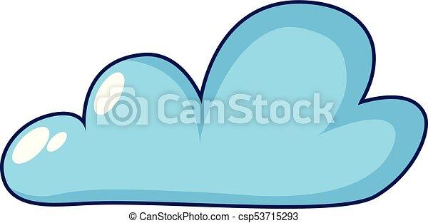 internet cloud icon cartoon style internet cloud icon eps rh canstockphoto com cloud vectors free download cloud vector editor