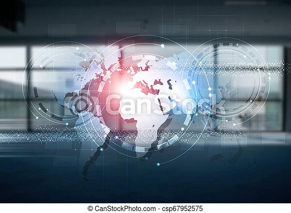 internet communications mixed media - csp67952575