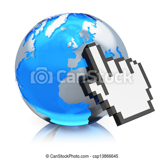 Internet concept - csp13866645