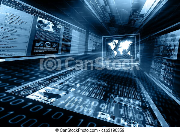 Internet concept - csp3190359