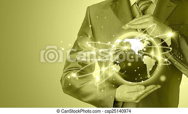 Internet Concept - csp25140974
