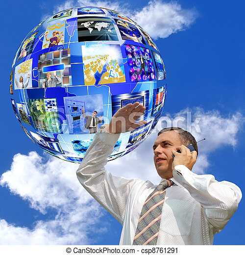 Internet concept - csp8761291
