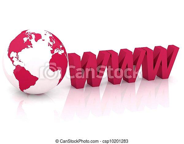 Internet concept - csp10201283