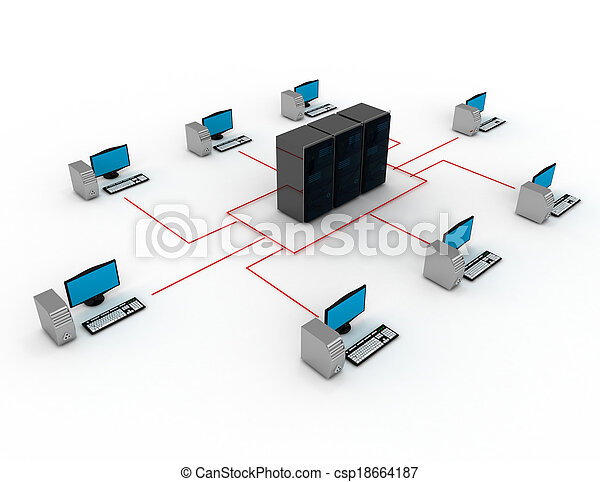 internet concept - csp18664187