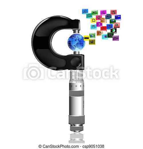 Internet concept - csp9051038