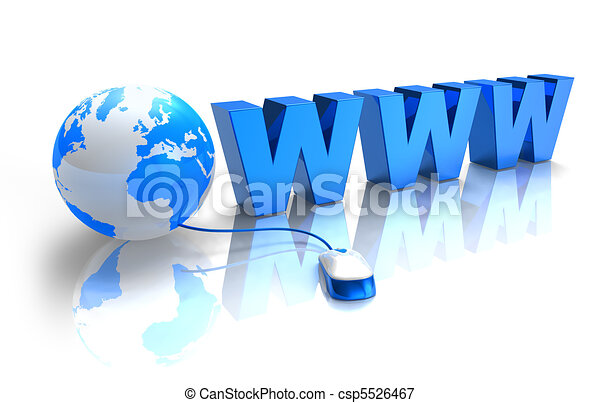 Internet concept - csp5526467