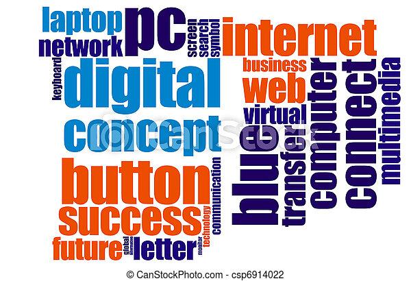 Internet concept - csp6914022