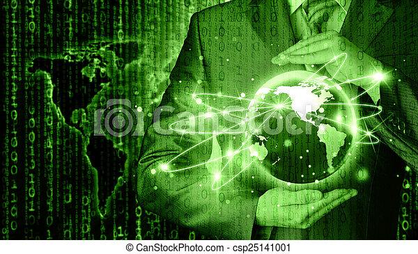 Internet Concept - csp25141001
