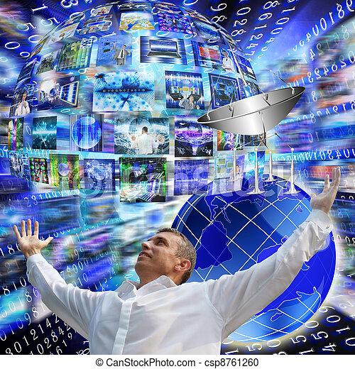 Internet concept - csp8761260