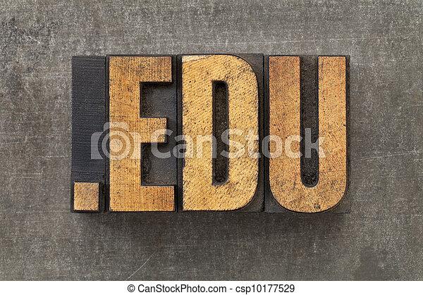 internet domain for education - csp10177529