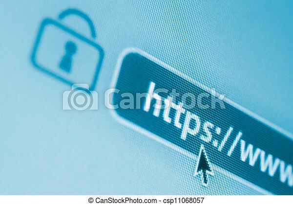 Aseguren Internet encriptado - csp11068057