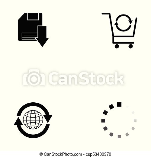 internet icon set - csp53400370