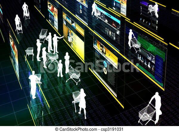 Internet Marketing 02 - csp3191031