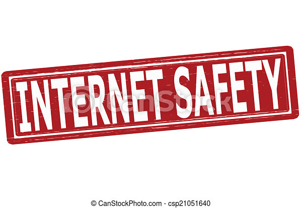 stamp with text internet safety inside vector illustration eps rh canstockphoto com Stay Safe On the Internet Stay Safe On the Internet