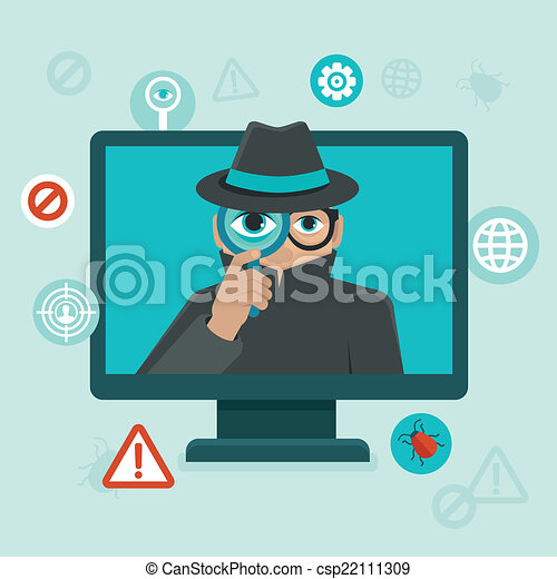 Internet security and spayware warning - csp22111309