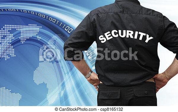 Internet security concept  - csp8165132
