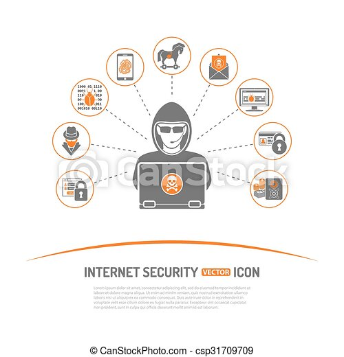 Internet Security Concept - csp31709709