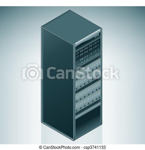 Data Center Graphic