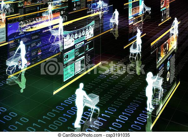 Internet Shopping 01 - csp3191035