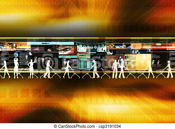 Internet Shopping 02 - csp3191034