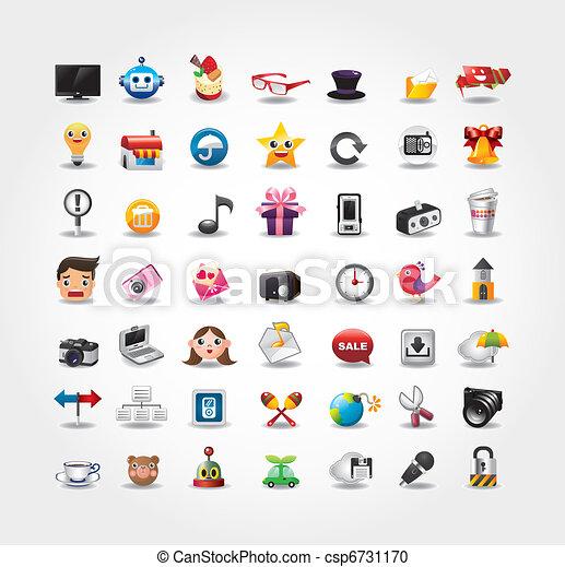 Internet & Website icons,Web Icons, icons Set - csp6731170
