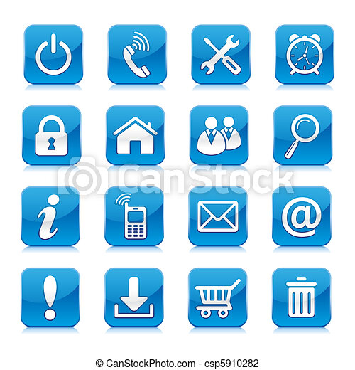 internetten ikoon - csp5910282