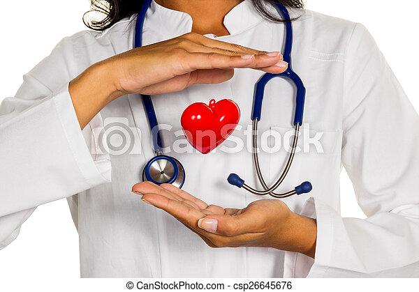 internist with heart - csp26645676
