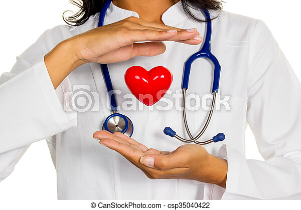 internist with heart - csp35040422