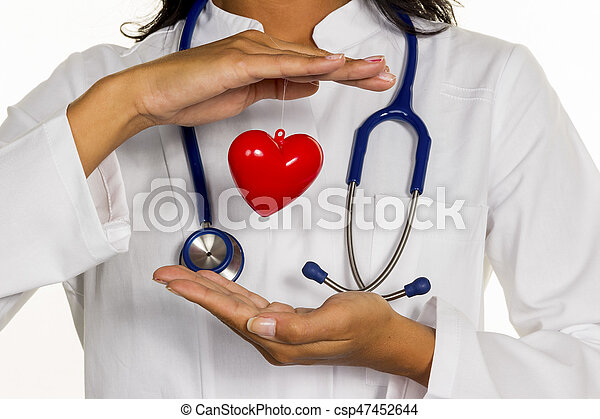 internist with heart - csp47452644