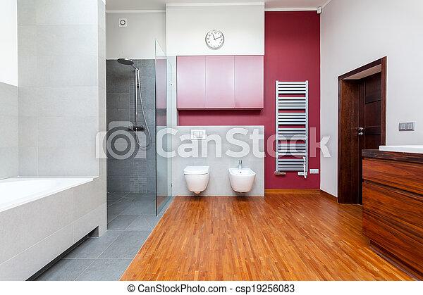 Doccia, interno, bagno, contemporaneo, bagno foto - Cerca Fotografie ...